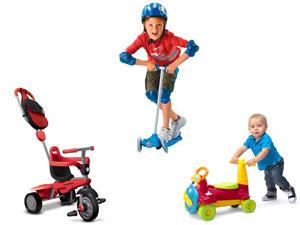 Dečija vozila, Bicikli, Tricikli, Trotineti i Guralice
