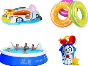 Bazeni za kupanje i igračke za vodu