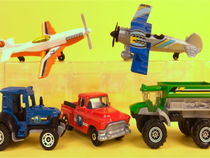 Autići, Traktori, Piste, Garaže, Vozovi, Avioni