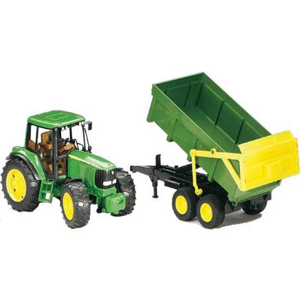 Traktor sa prikolicom Bruder John Deere 020583  - ODDO igračke