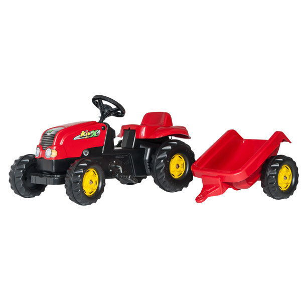 Traktor na pedale sa prikolicom 012121 | ODDO igračke