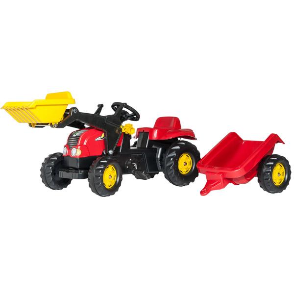 Traktor na pedale Utovarivač sa prikolicom 023127 - ODDO igračke