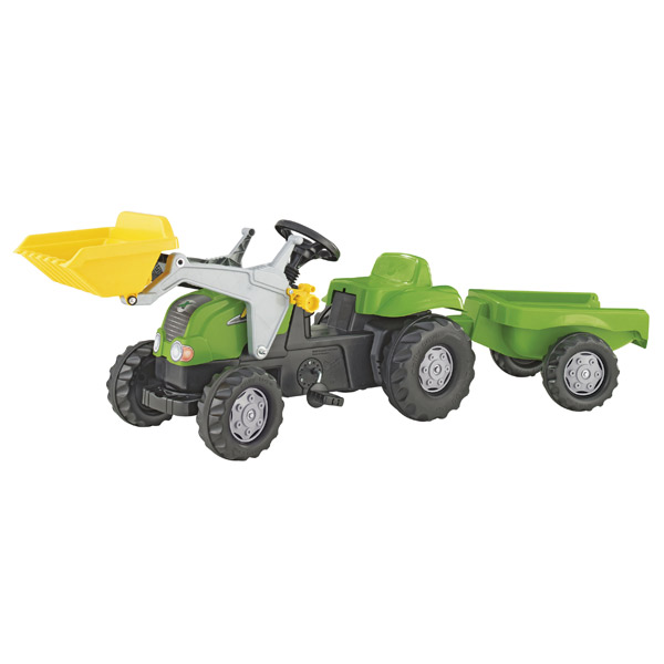 Traktor na pedale Utovarivač sa prikolicom 023134 - ODDO igračke