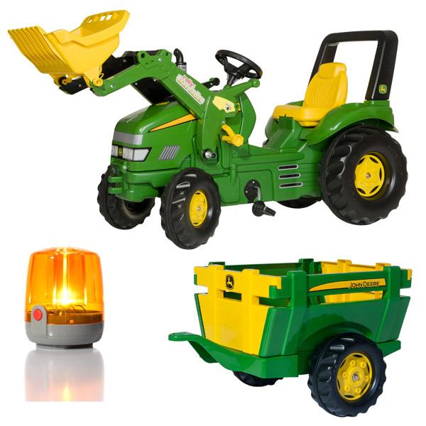 Traktor na pedale Utovarivač sa Farm prikolicom 049523 - ODDO igračke