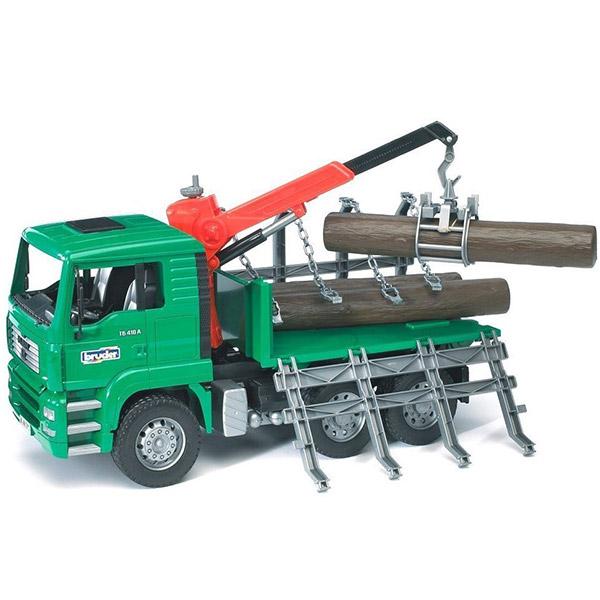 Kamion sa drvima Bruder MAN 027698 - ODDO igračke