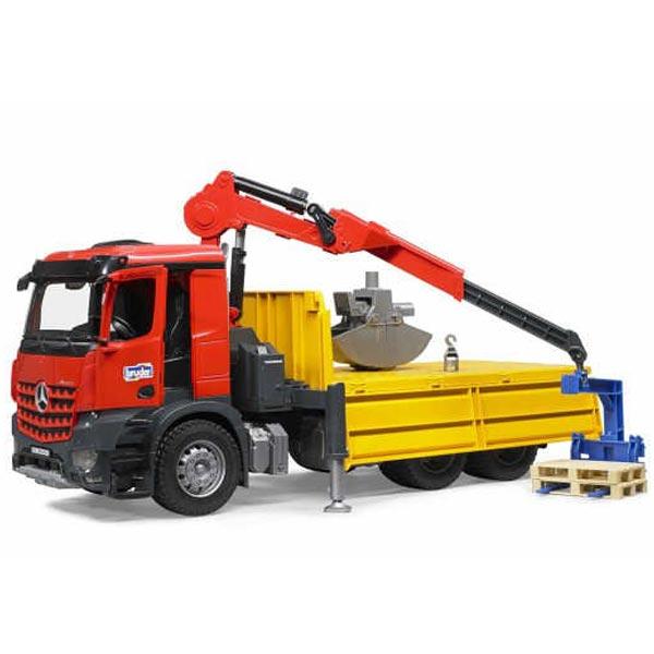 Kamion Mercedes sa Kranom MB  Bruder 036515 - ODDO igračke