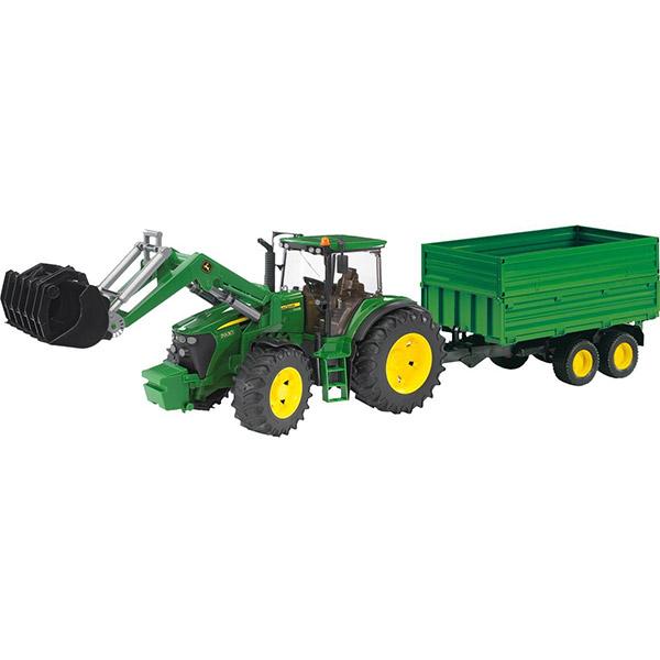 Traktor sa prikolicom i kašikom Bruder 030551 John Deere 7930 - ODDO igračke