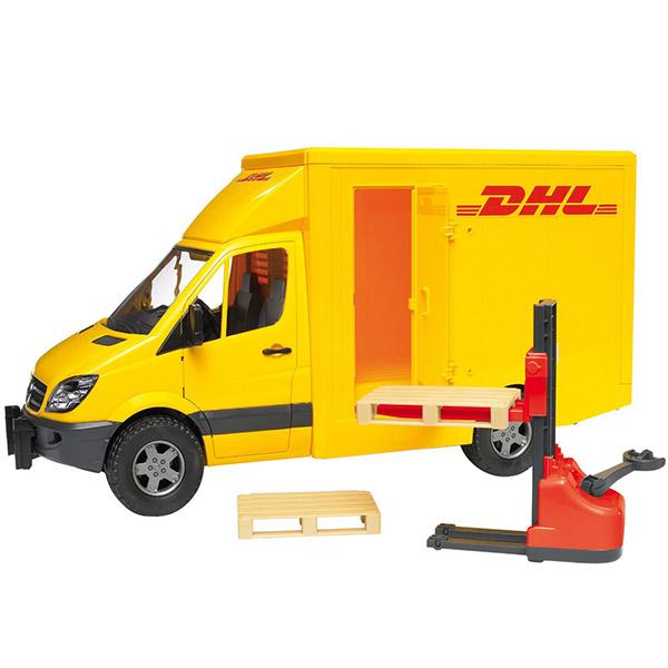 Kamion Bruder Mercedes Benz Sprinter DHL 402 025342 - ODDO igračke