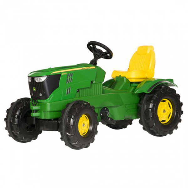 Traktor na pedale Rolly Toys Farmtrac John Deere 6210R 601066 - ODDO igračke