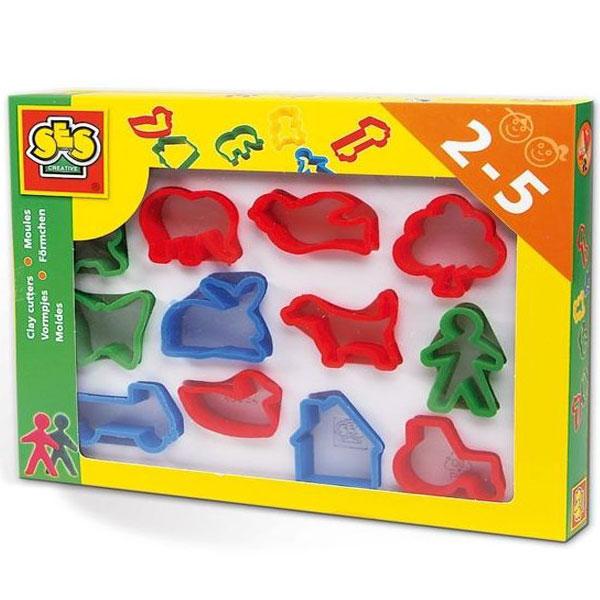 SES MODLE ZA PLASTELIN-12 KOM  00884 8042 - ODDO igračke