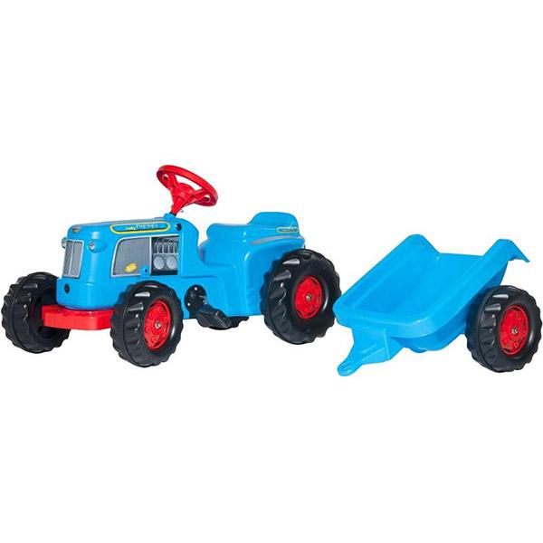 Traktor na pedale RollyKiddy Classic sa prikolicom plavi 620012 - ODDO igračke