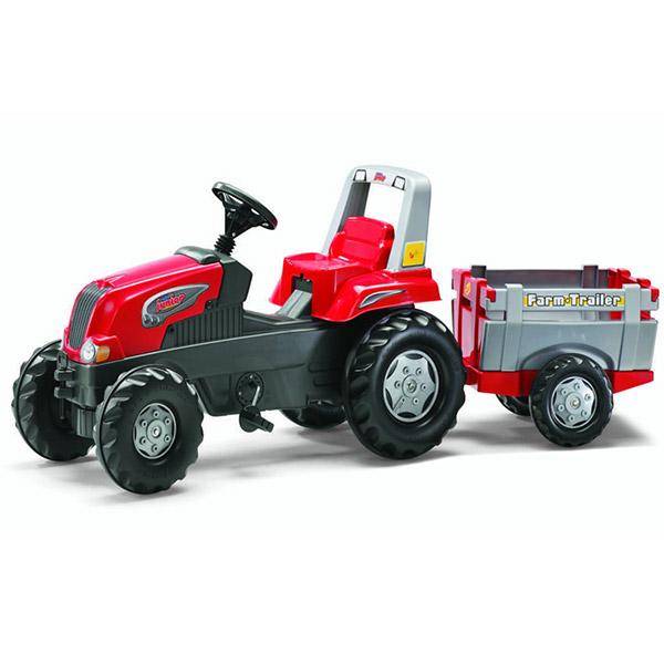 Traktor na pedale sa prikolicom Rolly Toys Rolly Junior 800261 - ODDO igračke