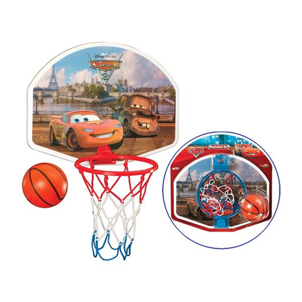 Košarka set sa loptom srednji Cars 015249 - ODDO igračke