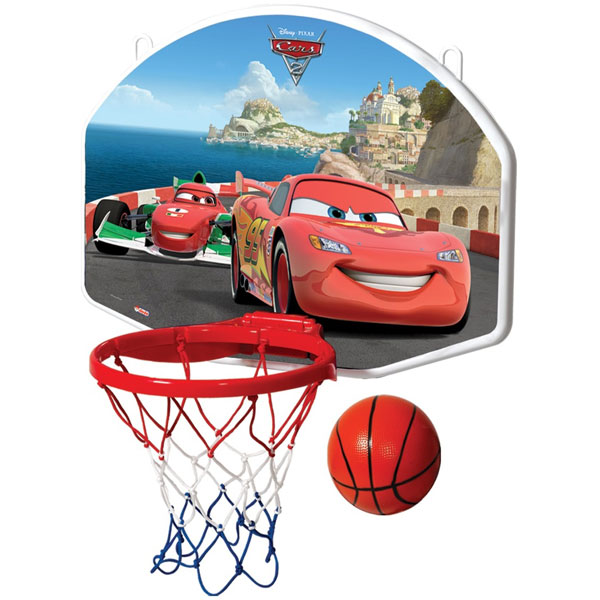 Košarka set sa loptom veći Cars DEDE 015294 - ODDO igračke