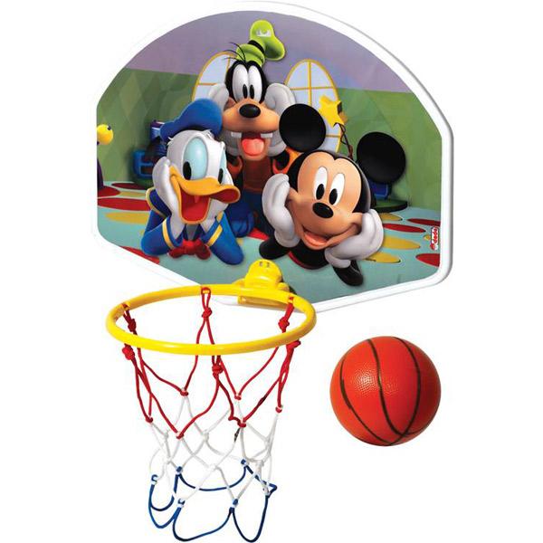 Košarka set sa loptom srednji Mickey DEDE 015232 - ODDO igračke