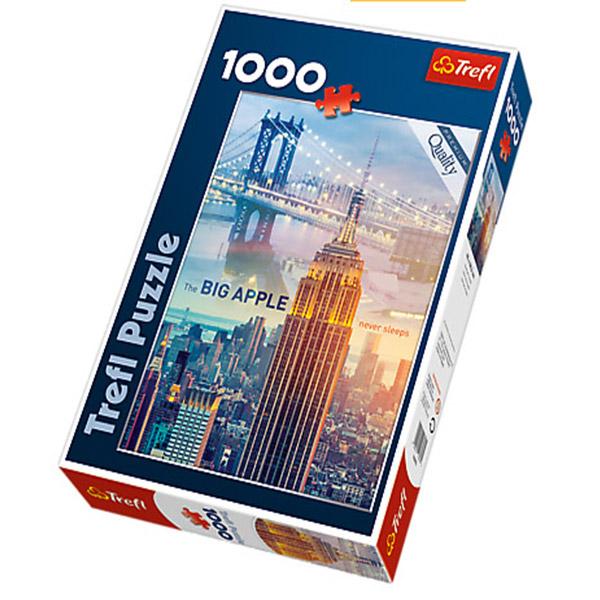 Trefl puzzla New York At dawn 1000pcs 10393 - ODDO igračke