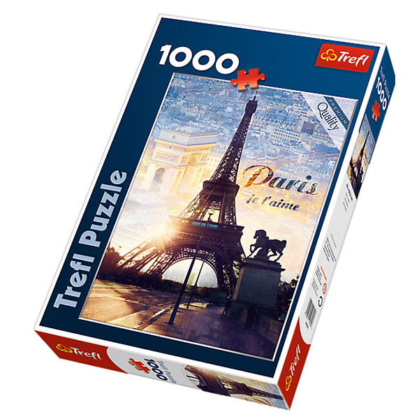 Trefl puzzla Paris at dawn 1000pcs 10394 - ODDO igračke