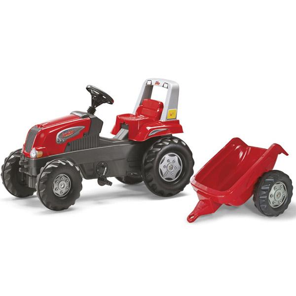 Traktor na pedale Rolly Toys Junior RT sa prikolicom kid 800315 - ODDO igračke