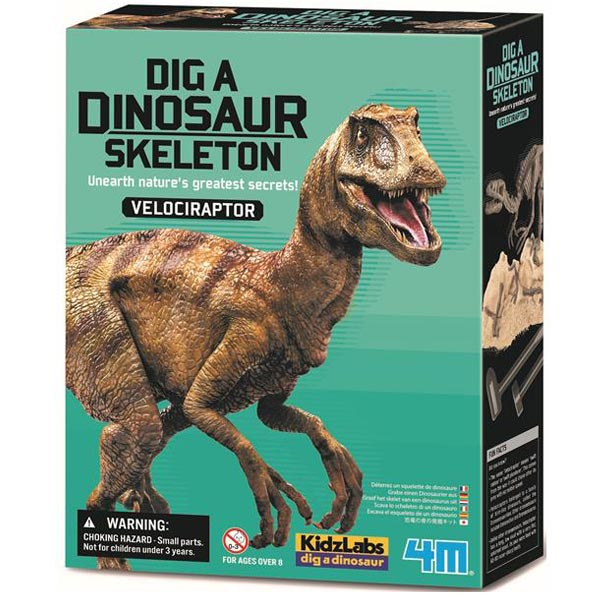Iskopaj Dinosaurusa Velociraptor 4M13234 - ODDO igračke