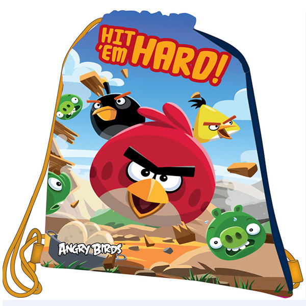Torba za patike Angry birds 17547 - ODDO igračke