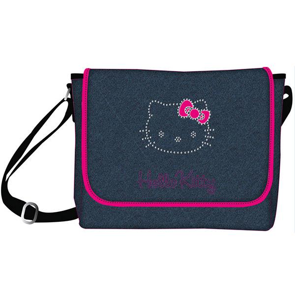 Torba na jedno rame Hello Kitty  blue jeans Target 17462 - ODDO igračke