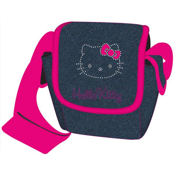 Torba na jedno rame Hello Kitty blue jeans Target 17463 - ODDO igračke