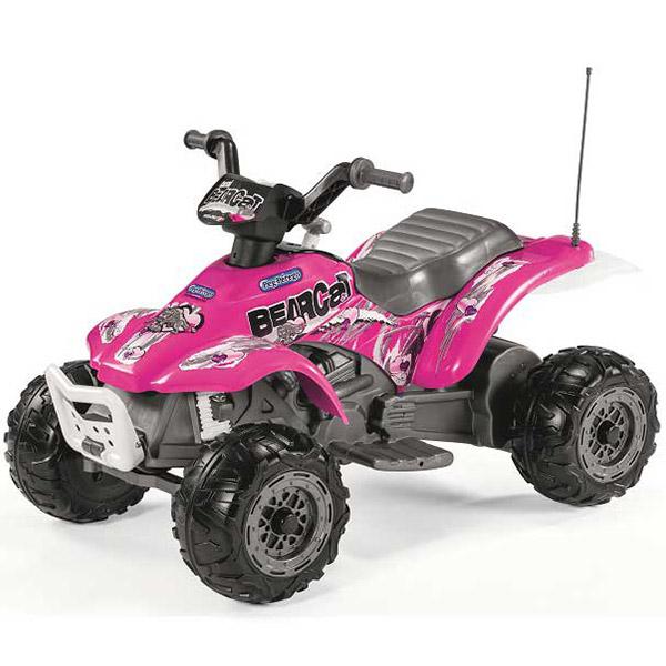 Auto na akumulator Quad Peg Perego Corall BearCat Pink P315ED1166 - ODDO igračke