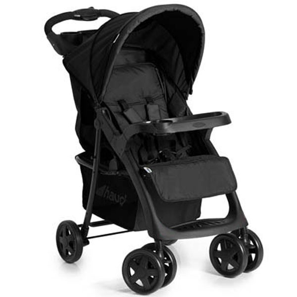 Kolica za bebe Shopper Neo II stone crna Hauck 5010368 - ODDO igračke