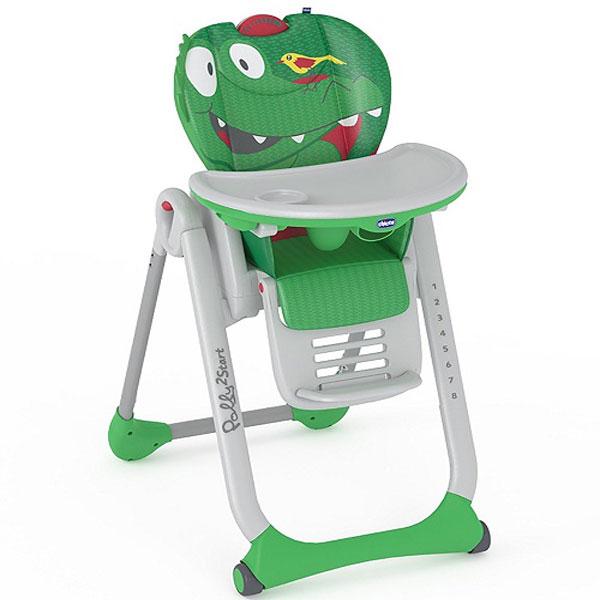 Stolica za Hranjenje Polly 2 Start Crocodile Chicco 5300248 - ODDO igračke