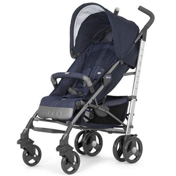 Kolica za bebe Liteway 2 Top Special Edition Denim - Teksas Chicco 5020589 - ODDO igračke