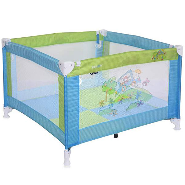 Ogradica Play Blue & Green Car Bertoni 10080051714 - ODDO igračke
