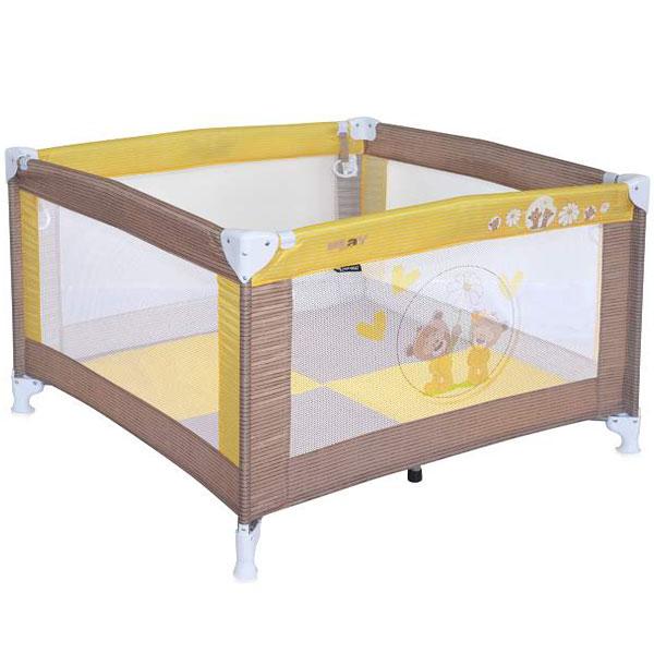 Ogradica Play Beige & Yellow Daisy Bears Bertoni 10080051717 - ODDO igračke