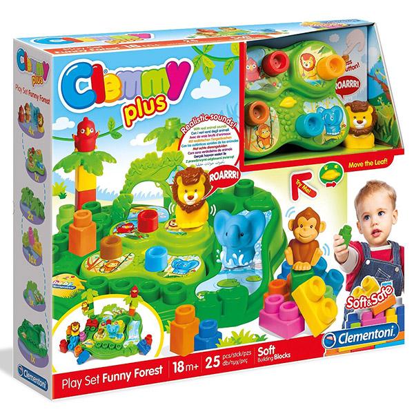 Mekane gumene kocke Clemmy plus Vesela šuma CL14957 - ODDO igračke