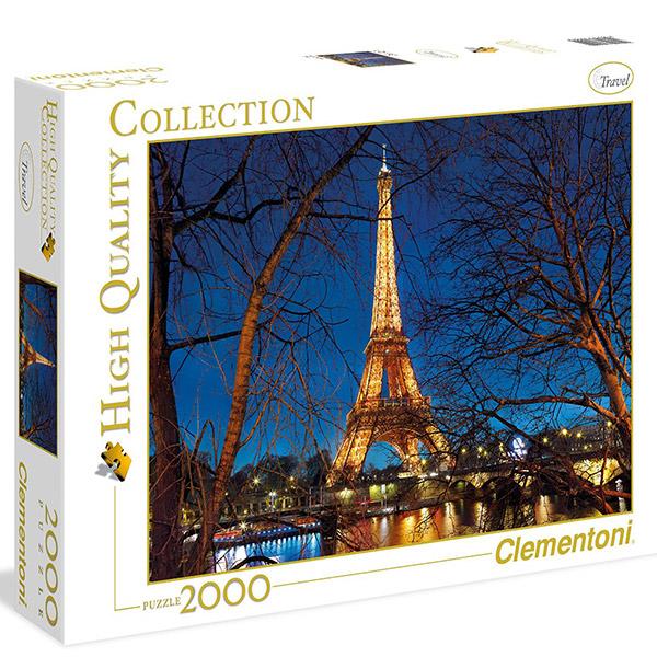 Clementoni puzzla Paris 2000pcs 32554 - ODDO igračke