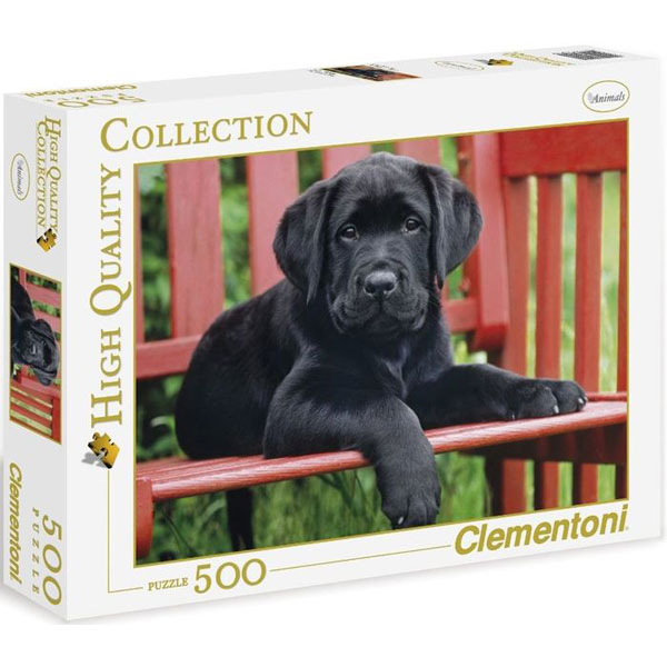 Clementoni Puzzla The Black Dog 500 pcs 30346 - ODDO igračke