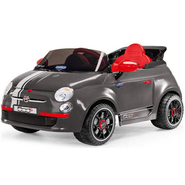 Auto na akumulator Fiat 500 6v Peg Perego sa Daljinskim Upravljačem Grigio P75120066 - ODDO igračke
