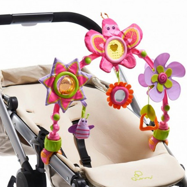 Tiny Love plastična igračka za kolica i krevetac Leptir 33314026 - ODDO igračke