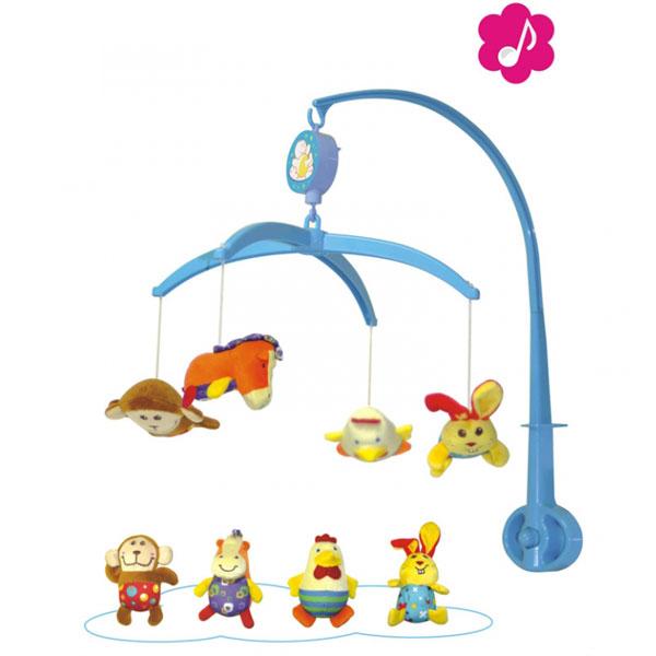 Muzička Vrteška za krevetac plišana Parkfield 81351 - ODDO igračke