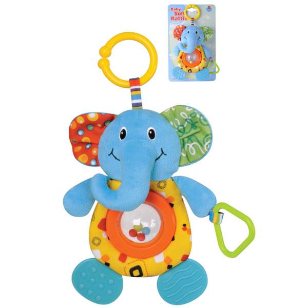 Plišana zvečka za bebe Slonče Parkfield 81517 - ODDO igračke