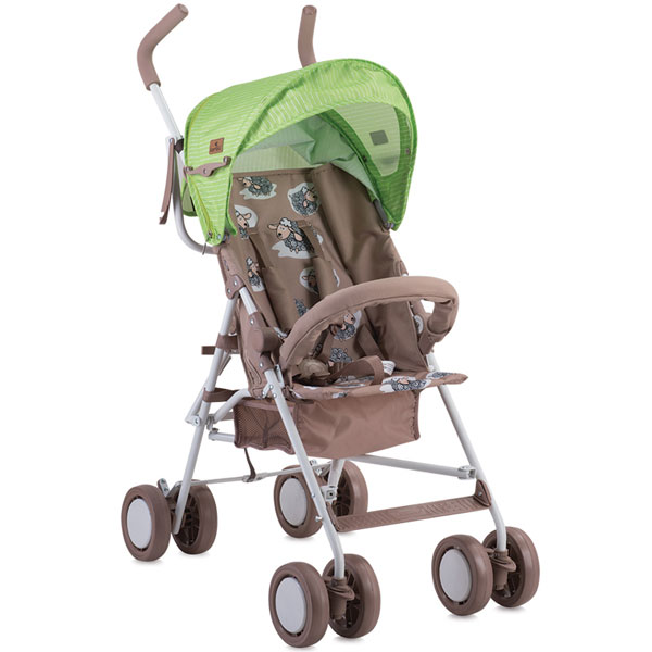 Kolica Trek clone 1 Beige & Green Lambs Bertoni 10020881732 - ODDO igračke