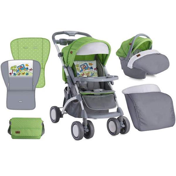 Kolica Apollo Set Green & Grey Car Bertoni 10020911714 - ODDO igračke