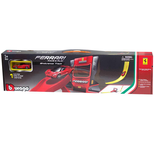 Burago Ferrari R&P Single Loop Stunt set 1:64 BU56098  - ODDO igračke