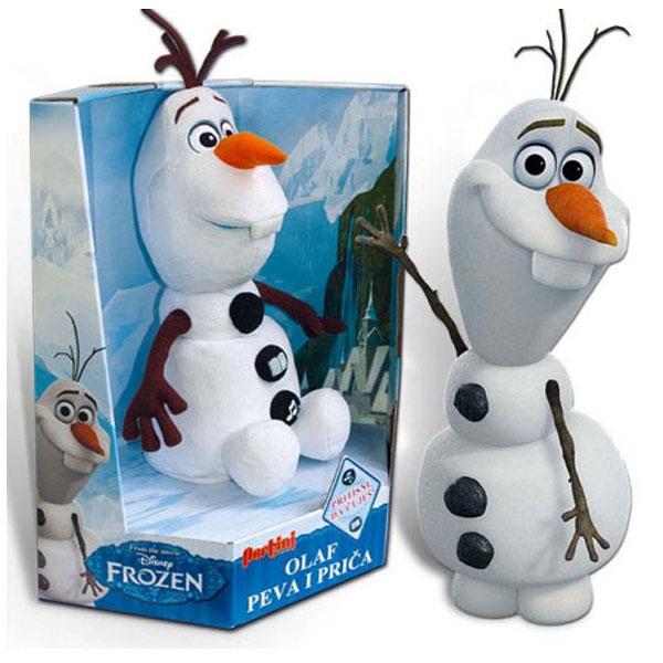 Olaf peva i priča Frozen na srpskom 16248 - ODDO igračke