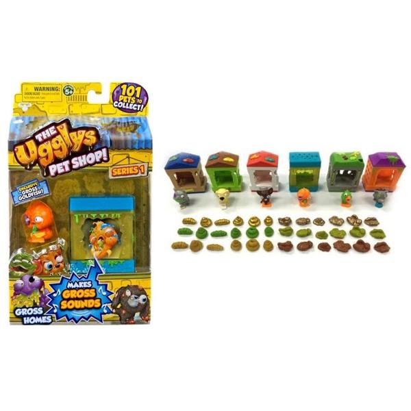 Figura i kucica Ugglys Pet Shop 1003167 - ODDO igračke