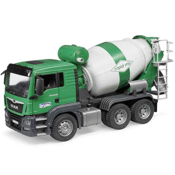 Kamion Bruder MAN TGS Beton Mešalica 037109 - ODDO igračke