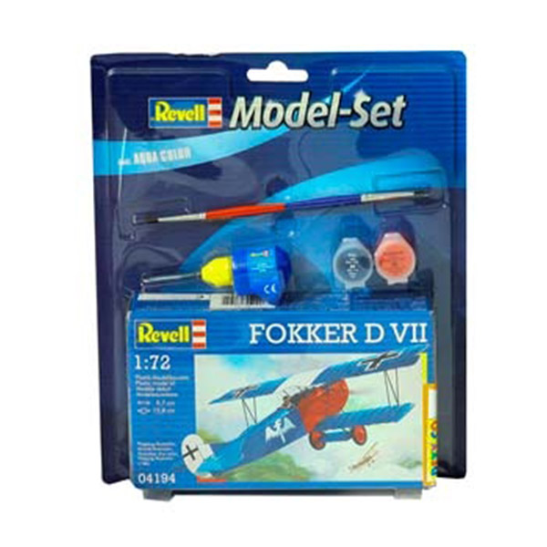 Revell Maketa Model Set Fokker D VII RV64194/5006 - ODDO igračke