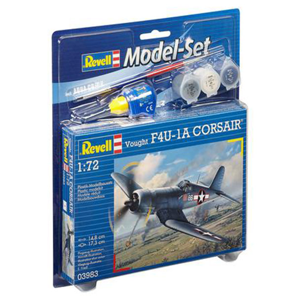 Revell Maketa Model Set Vought F4U-1D CORSAIR RV63983/5006 - ODDO igračke