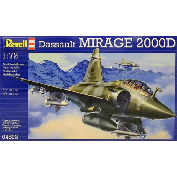 Revell Maketa Dassault MIRAGE 2000D RV04893/090 - ODDO igračke