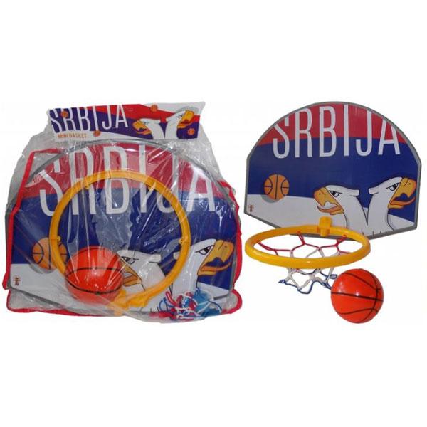 Koš i lopta Super Basketball 1552 - ODDO igračke
