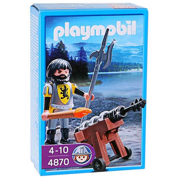 Playmobil vitez sa topom 4870 - ODDO igračke